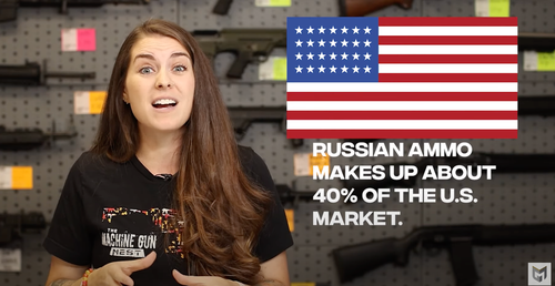 """""""Backdoor Gun Control"""" - How Biden Banning Russian Ammo Will Make Range Ammo """"Hard To Come By"""""""