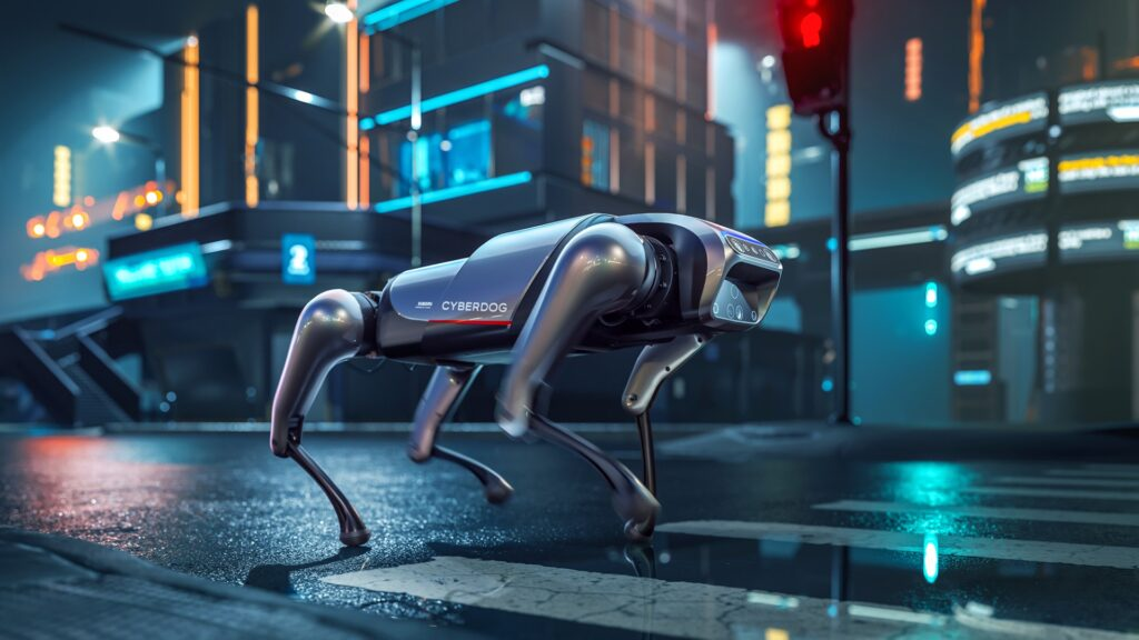 Forget vacuum cleaners, Xiaomi just launched its first robotic dog