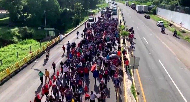 Mexican Troops Break Up Migrant Caravan Making Its Way to US Border (VIDEO)