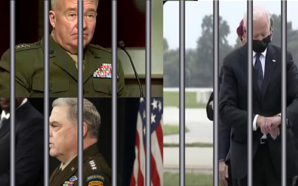 The Wrong Man Is In The Brig – Put Biden On Trial