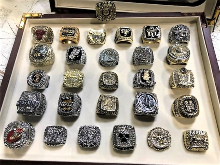 Customs and Border Protection Seizes 86 Counterfeit NFL, NBA and MLB Championship Rings Shipped from China