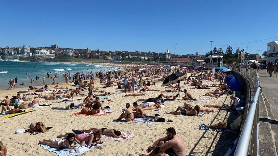 AUSSIES Are Now Ignoring Tyrannical Public 'Health' Mandates – Heading to Beautiful Bondi Beach