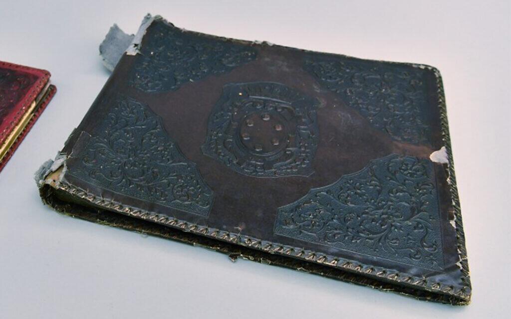 Researchers find Nazi photo album bound with human skin