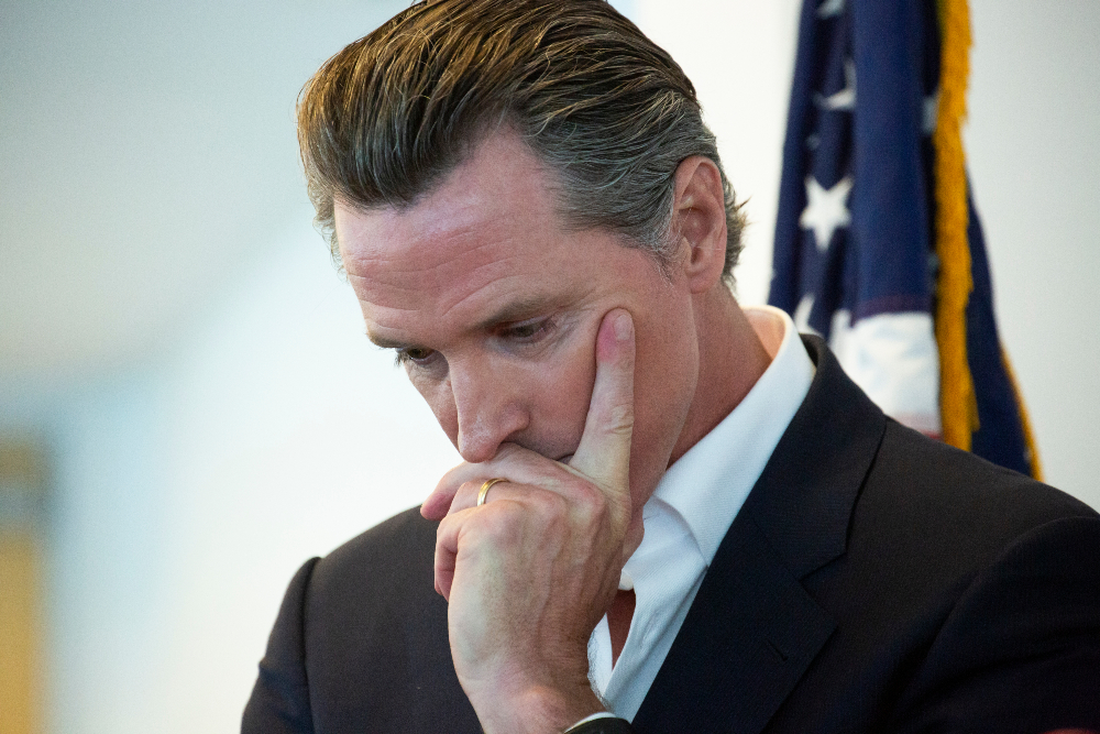 """""""OUR LIVES DEPEND ON IT""""; Hollywood Celebrities Begin To Panic Over Gavin Newsom Recall"""