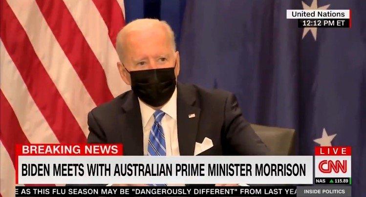 Joe Biden Freaks Out When Reporters Ask Him Questions After His Disastrous UN Speech (VIDEO)