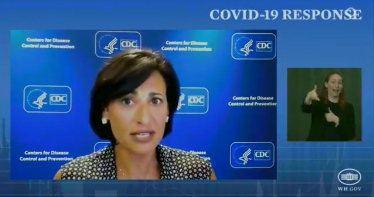 CDC Director's Guidance for Labor Day Weekend: All Americans Should Wear Masks Indoors, Unvaccinated People Should Not Travel (VIDEO)