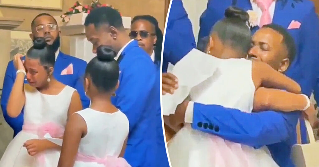 Man Proposes Adoption to Stepdaughters on Wedding Day: 'Blood Could Not Make Us Any Closer'