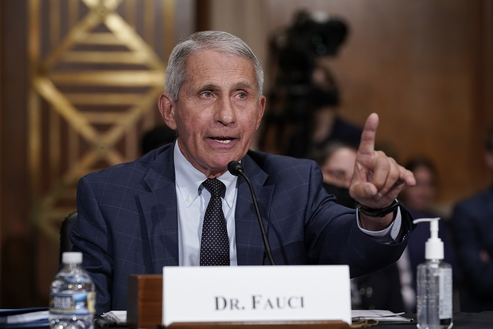 White House Stands by Fauci Over Gain-of-Function Research Controversy
