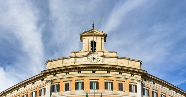 Italian Politicians Will Need Covid Passport to Enter Parliament