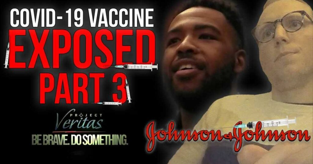 Johnson & Johnson: Children Don't Need the 'F*cking' COVID Vaccine Because There Are 'Unknown Repercussions Down the Road' … Want to 'Punish' Unvaccinated Adults and Turn Them Into 'Second-Grade Citizens' for Not Complying with Mandates