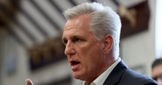 McCarthy: Dems' Spending Bill Equal to the 'Amount of Money We Spent to Win World War II'