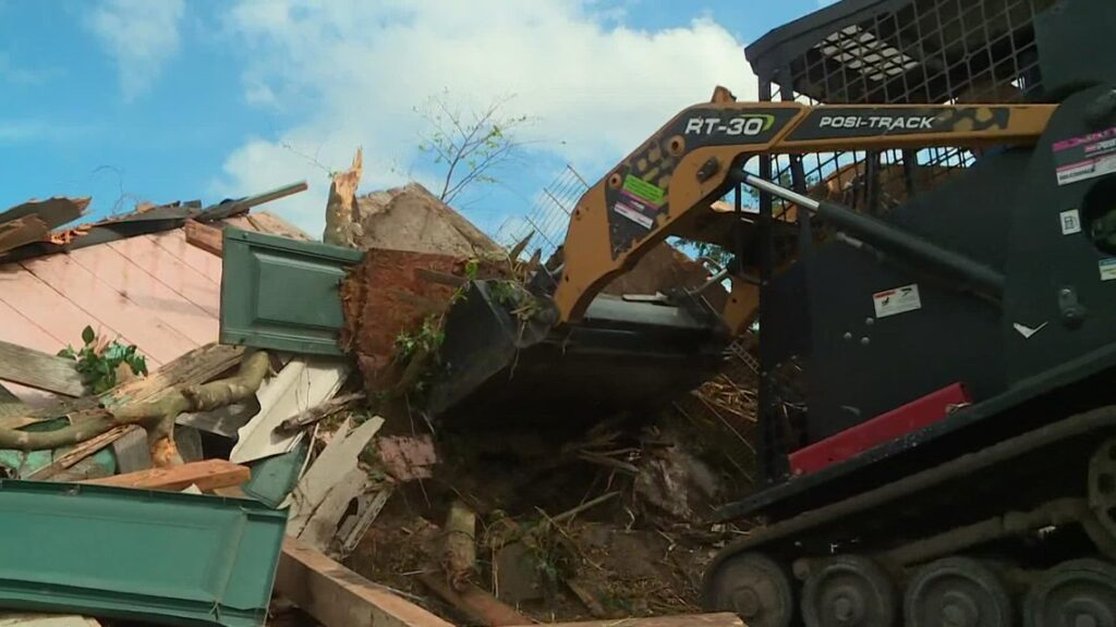 Houston landscapers offer helping hand to Ida victims in St. John