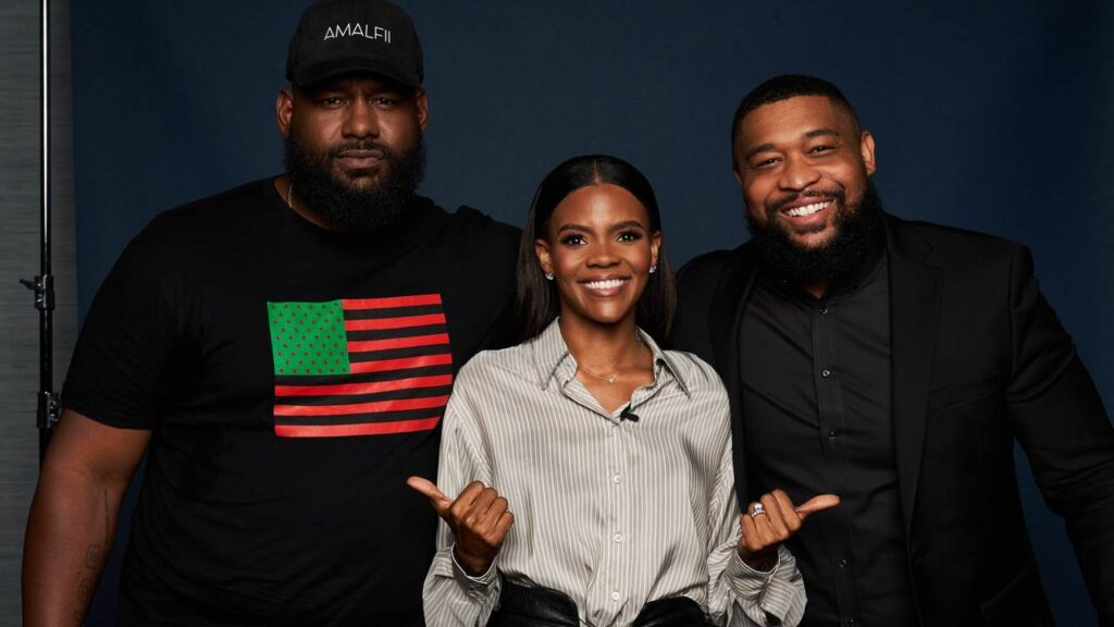 Candace Owens and Brandon Tatum Get Called the 'Bonnie and Clyde of Negro Republican Brigade'