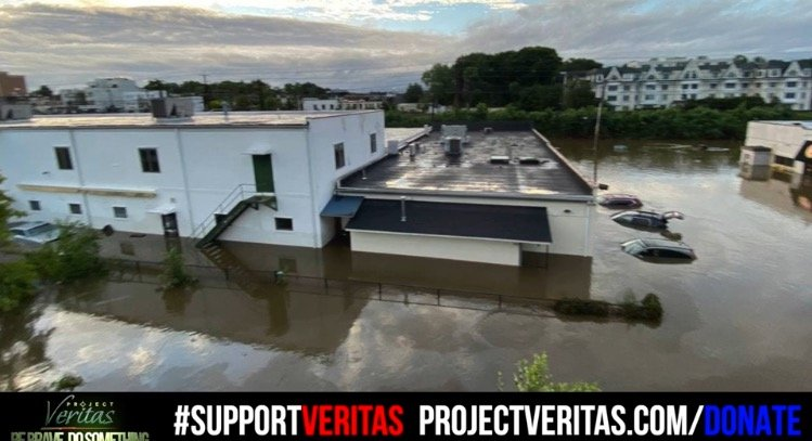Project Veritas Headquarters in New York Destroyed by Hurricane Ida's Remnants (VIDEO)
