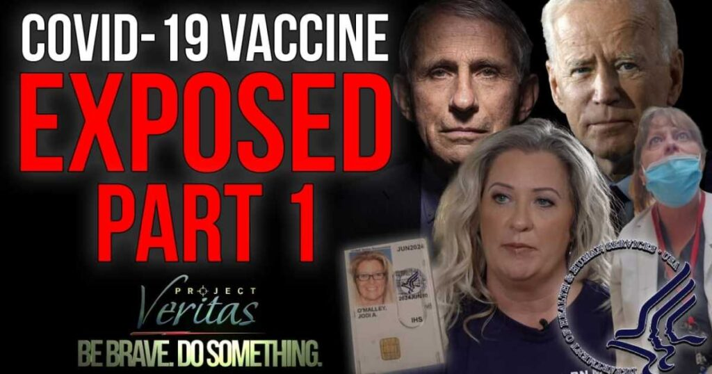 Federal Govt Whistleblower Goes Public with Secret Recordings: 'Government Doesn't Want to Show the [COVID] Vaccine is Full of Sh*t'; 'Shove' Adverse Effect Reporting 'Under the Mat'