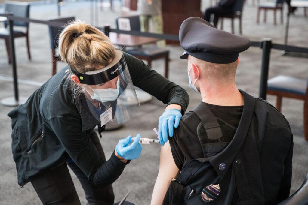 Judge Denies Police Union's Effort to Delay Vaccine Mandate in Massachusetts