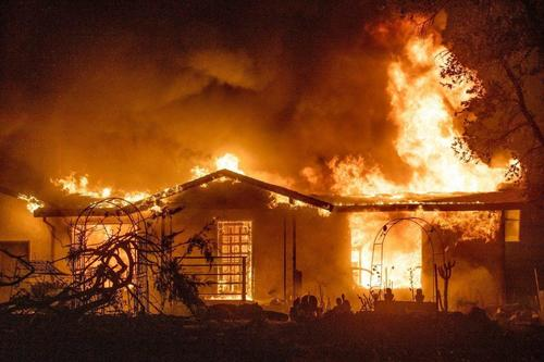 PG&E Charged With Deaths Of 4 In 2020 Wildfire Started By Its Equipment