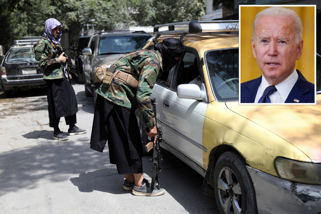 Biden admits admin may have given Taliban 'kill list' of Afghans who aided US