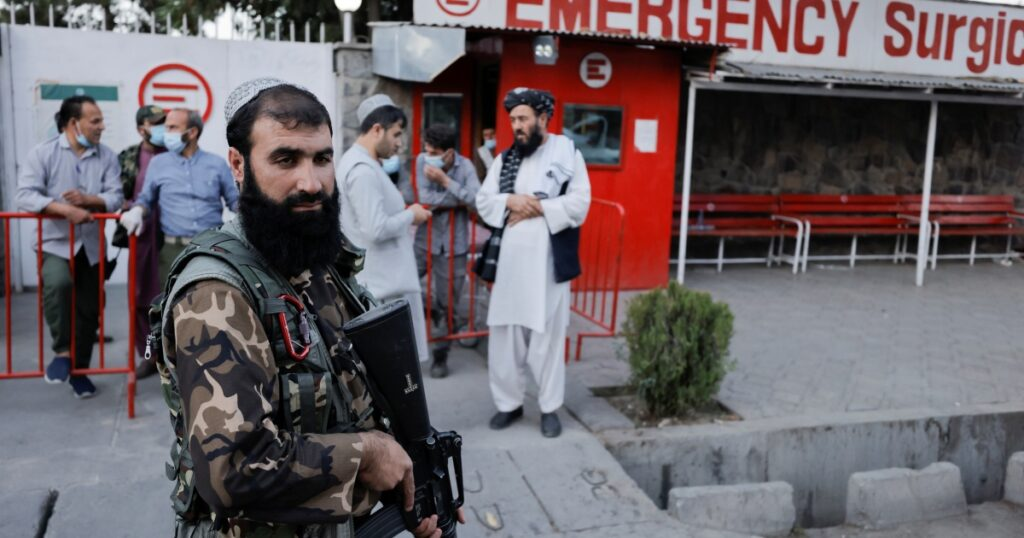 Deadly explosion targets memorial service near Kabul mosque