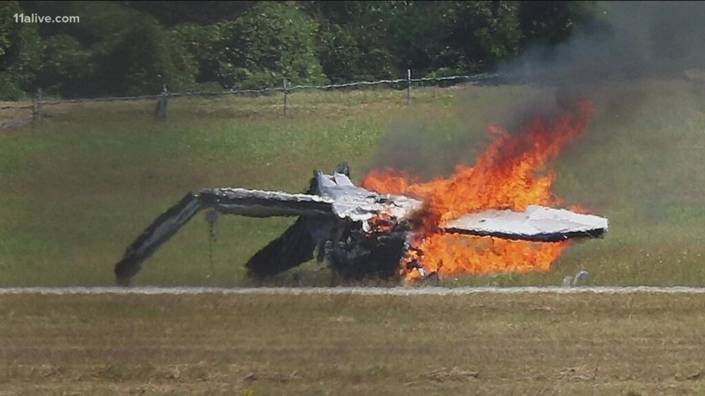 CEO identified as one of victims killed in fiery plane crash at DeKalb-Peachtree Airport