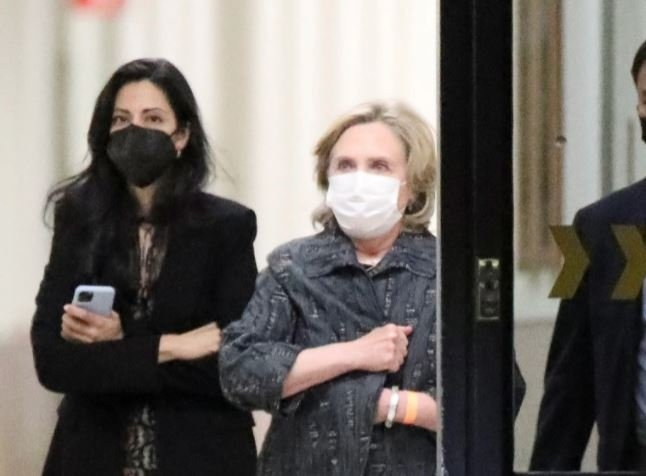 Hillary Clinton and Huma Seen Leaving California Hospital Where Bill Clinton Is Suffering in ICU