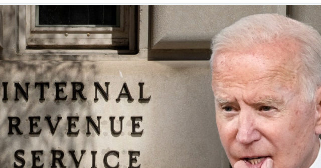 Exclusive — Conservatives Vow to Fight Joe Biden's IRS Spying on Americans