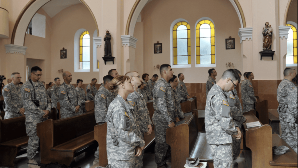 Military Archbishop: 'Catholic Troops Can Refuse the Mandatory Vaccine'