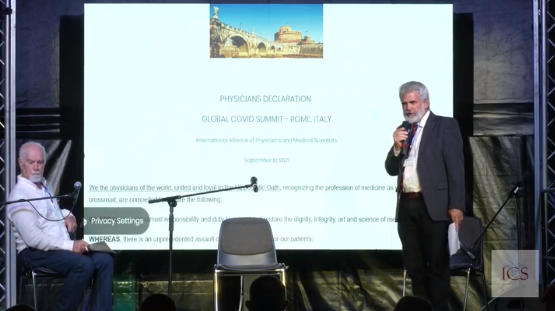 Thousands of Physicians in Rome, Italy Issue the 'Rome Declaration' Against the Covid-19 Vaccines at Summit