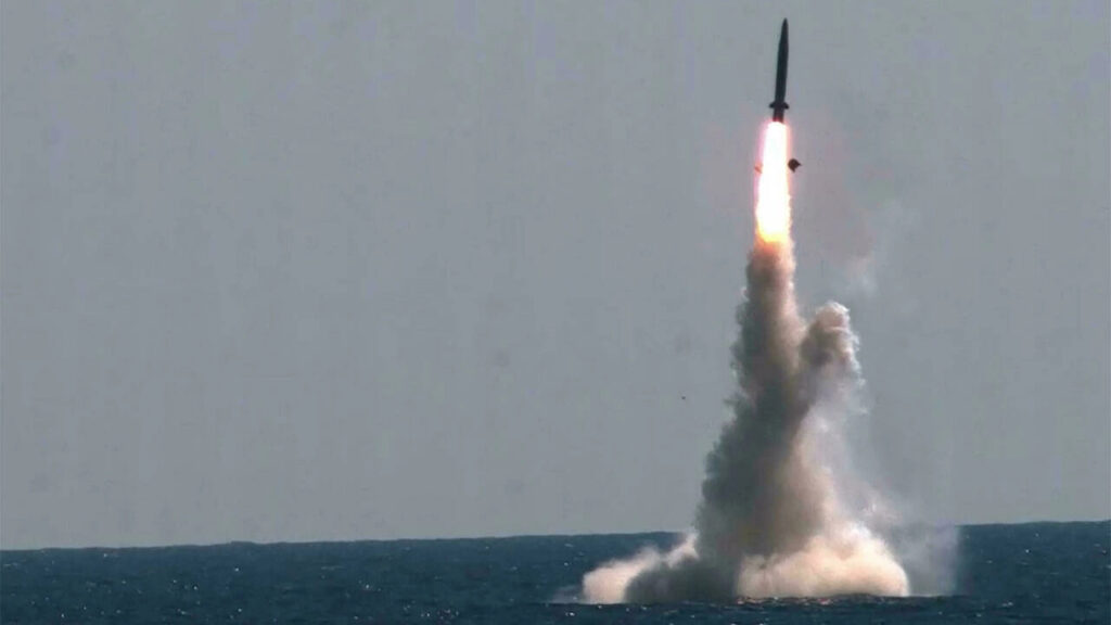 NORTH KOREA TEST-LAUNCHES SLBM, CAUSES A STIR IN WASHINGTON, SEOUL AND TOKYO
