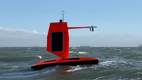 Watch: First-Ever Drone Boat Sails Into Eye Of Cat 4 Hurricane