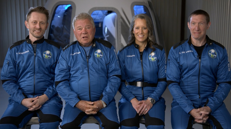 WATCH LIVE: William Shatner, TV's Capt. Kirk, gets ready to blast off into space